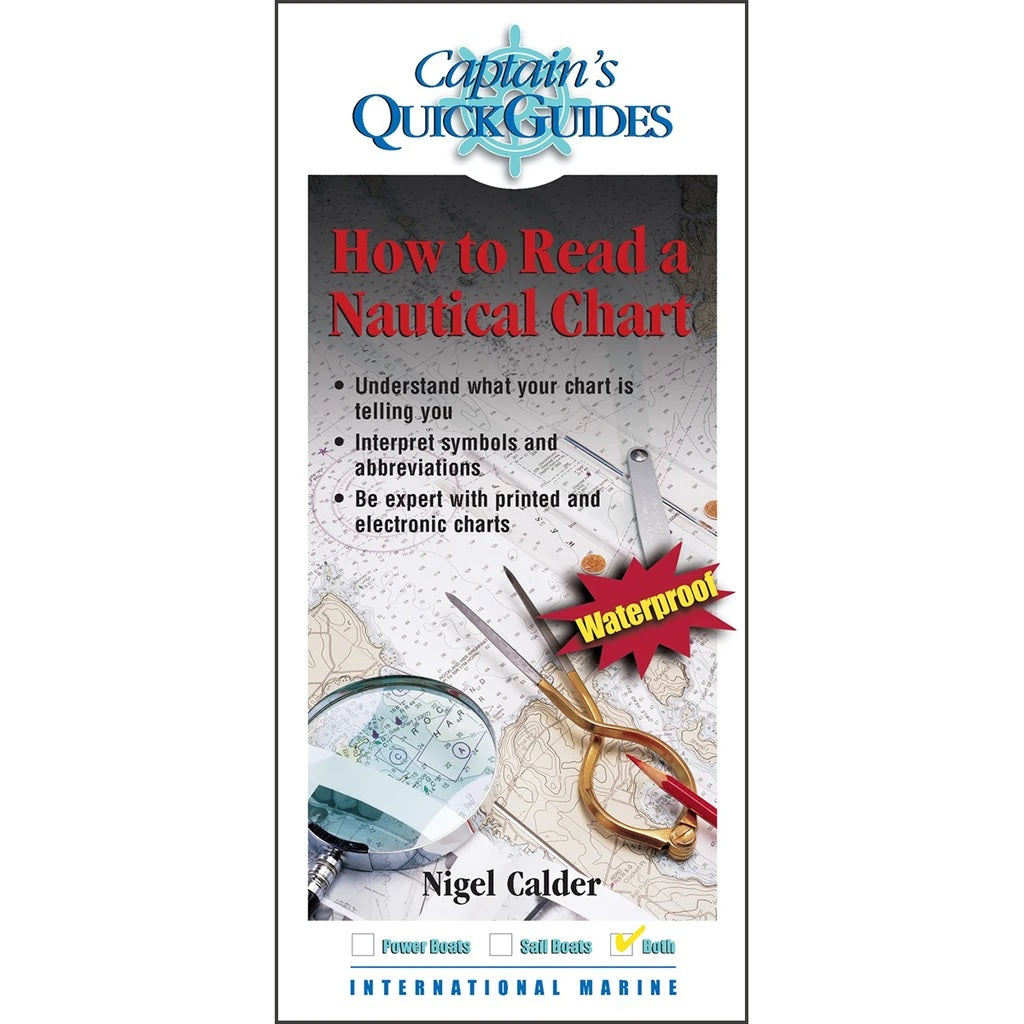Captain's Quick Guides: How to Read a Nautical Chart