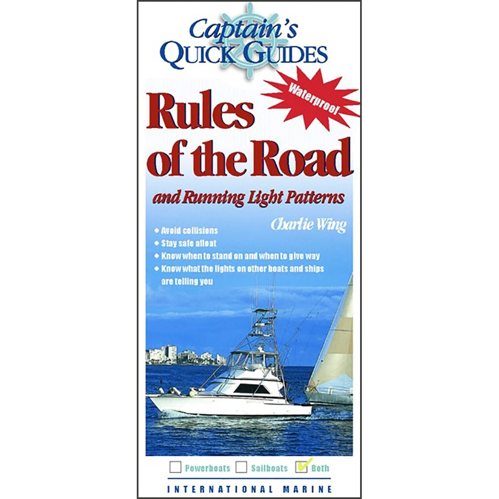 Captain's Quick Guides: Rules of the Road and Running Light Patterns