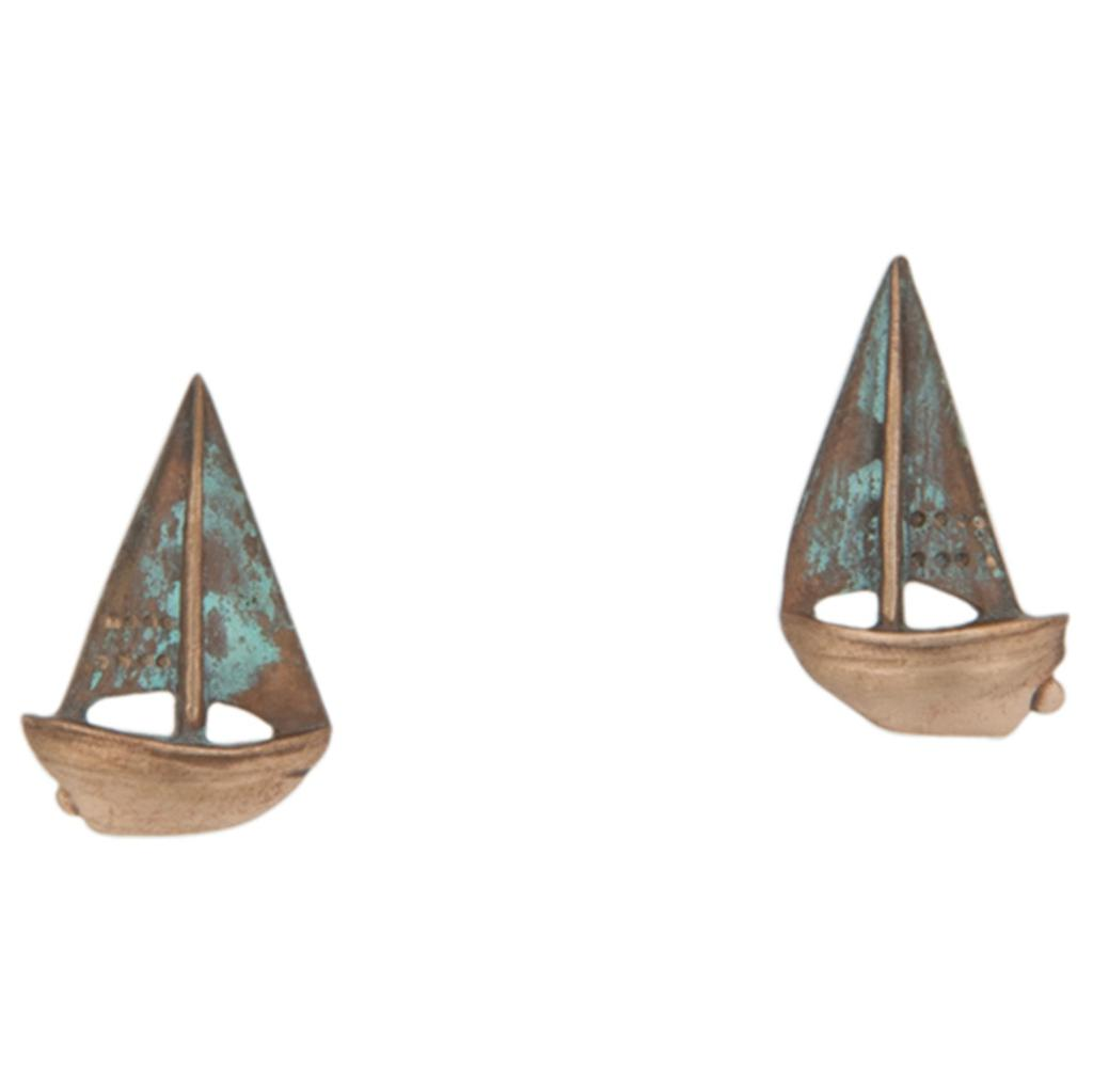 Buzzard's Bay Sailboat Earrings