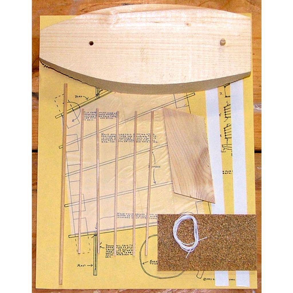"Pinewood Sailer ""Junk"" Kit"