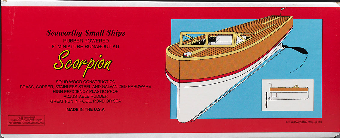 "Semi-Scale Model ""Scorpion Runabout"" Kit"