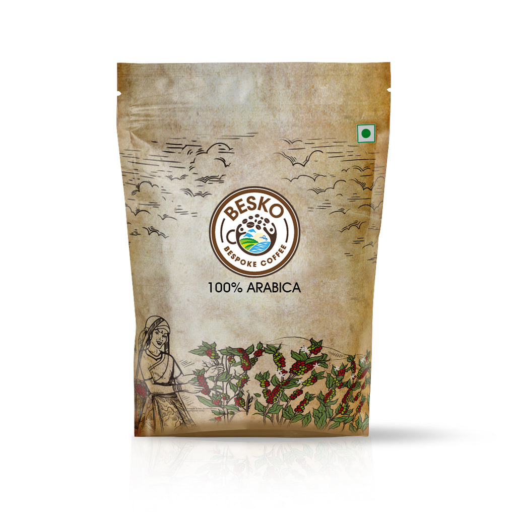 Besko Coffee 100% Arabica Ground Coffee Beans