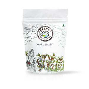 Besko Coffee Araku Valley Ground Coffee Beans