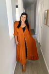 Duster / Maxi Dress 🧡 Rust - Summer Dress