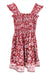 Mini Me Dress Strawberry Wine - Saffron Road