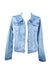 Bondi Stretch Crop Denim Jacket 🌊 Faded - Saffron Road