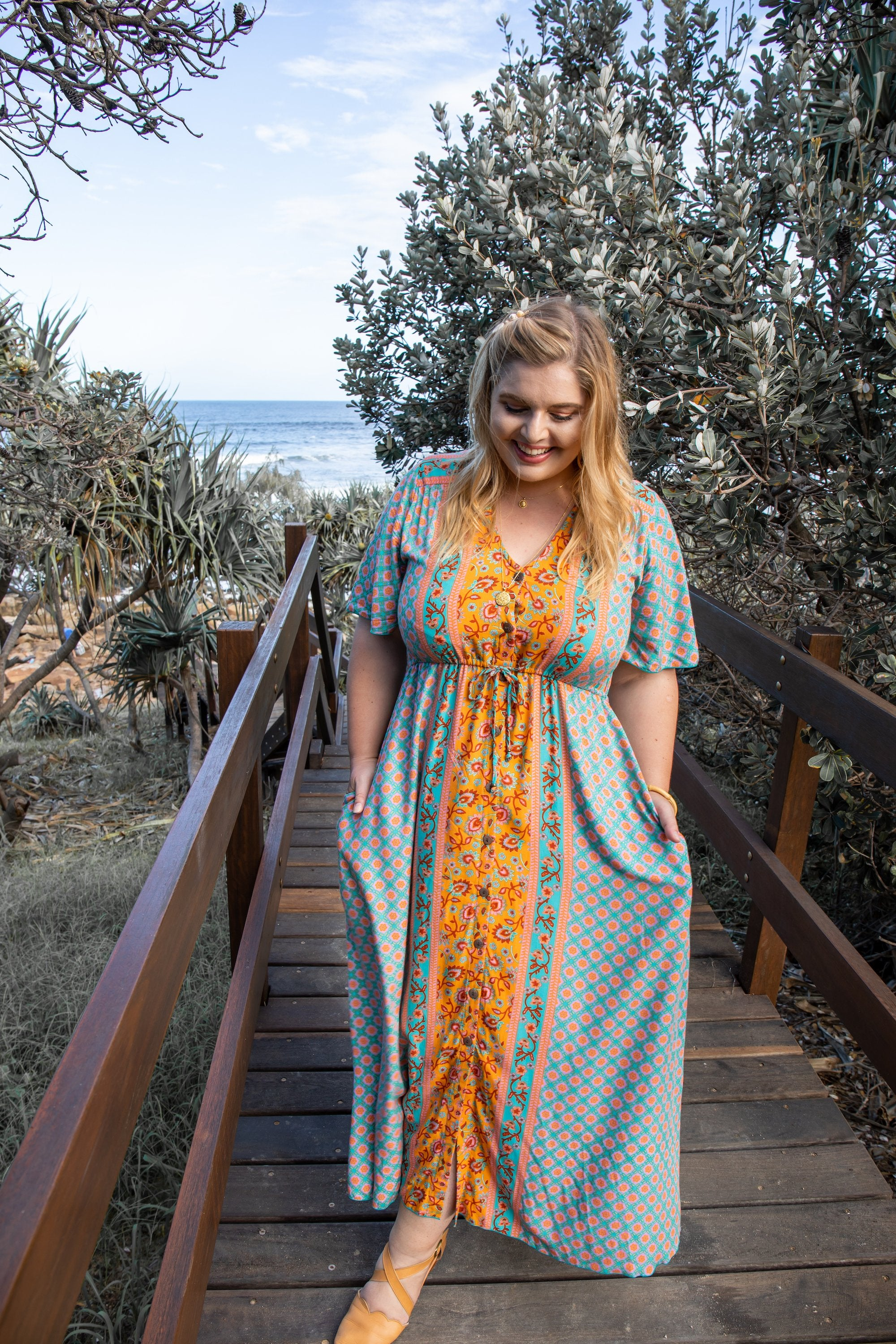 Tully Twirl Maxi Dress 🌼 Wildflower - Saffron Road