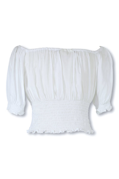 Amélie Top ♡ White - Saffron Road
