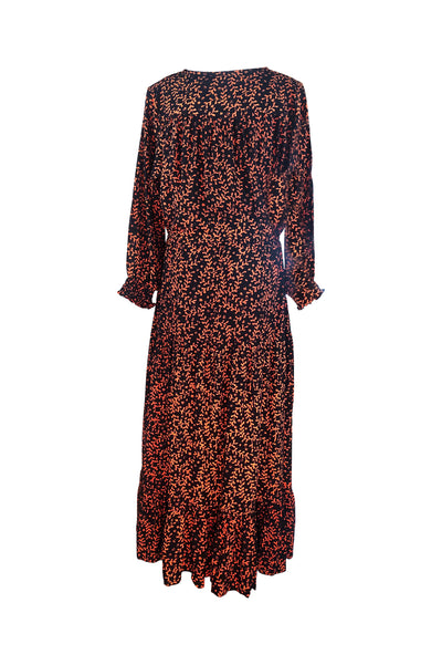Boho Drifter Maxi Dress 🍮 Black Toffee - Saffron Road