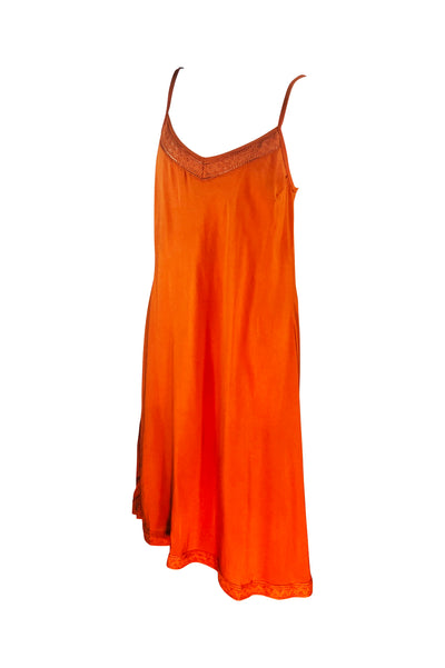 Slip Dress 🧡 Rust - Saffron Road