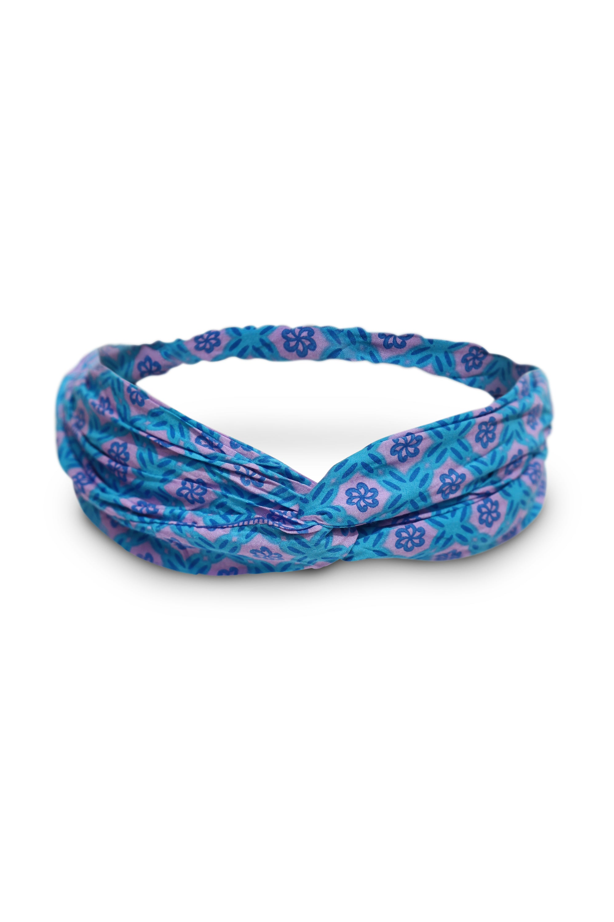 Blue Lilac Headband - Saffron Road