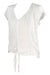 Jasmine Cap Sleeve Top White - Saffron Road