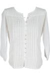 Bianca Top Cotton White - Saffron Road
