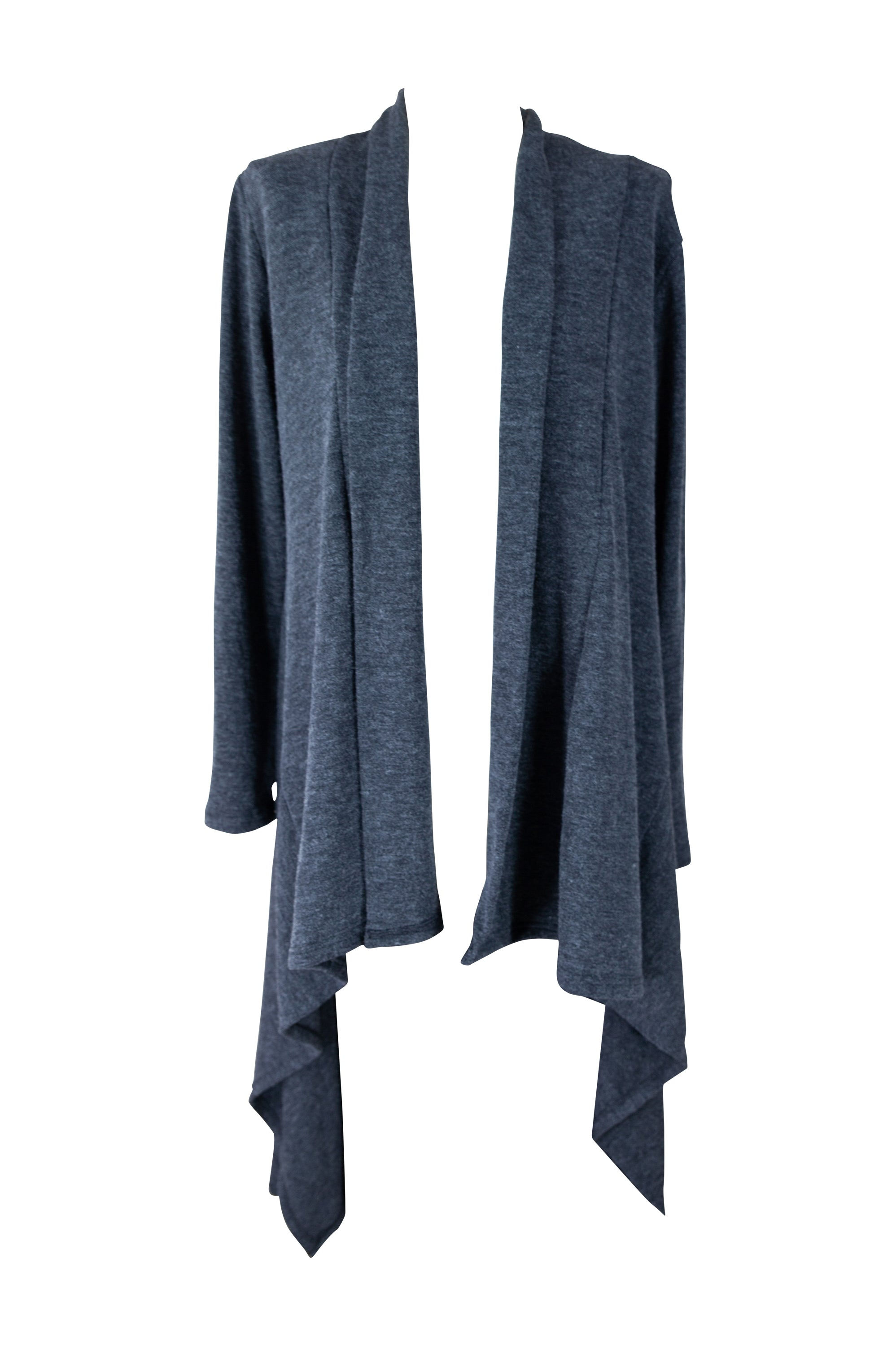 Layer Cozy Cardigan ☾ Maxi & Midi - Charcoal **Pre-Order Item** - Saffron Road