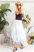 Dahlia Skirt ⇞ White Cotton Perfection $ - Saffron Road