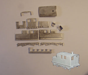 A151 (4) Sentinel steam shunter loco kit - N GAUGE -