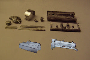 A22 (5) GWR 29xx Saint conversion kit incl tender - N GAUGE -