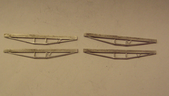 A412 (1) Coach truss rods (2 pairs) - N GAUGE -