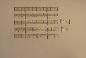 B152 (1) Lineside fencing and gates (42cm) - N GAUGE -