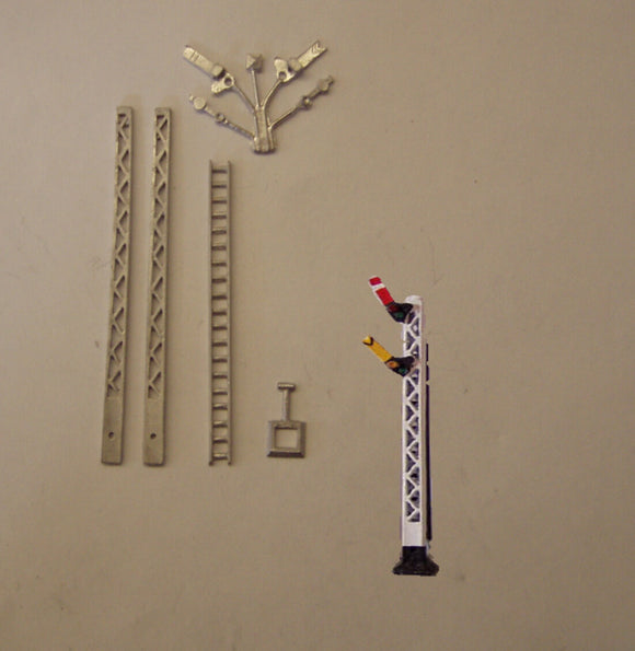 B322 (3) LMS lattice post home/distant signal - N GAUGE -