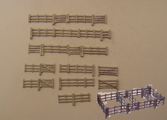 B471 (3) Cattle dock - N GAUGE -