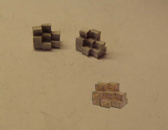 B476 (1) Stacks of crates (2) - N GAUGE -