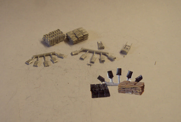 B482 (1) Sack load - various - N GAUGE -