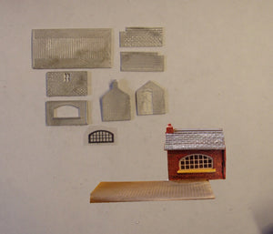 B492 (3) Weighbridge and office - N GAUGE -