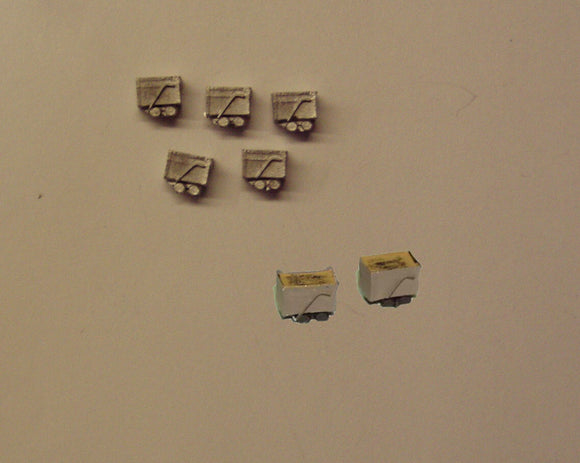 B494 (1) Mine cars (5) - N GAUGE -