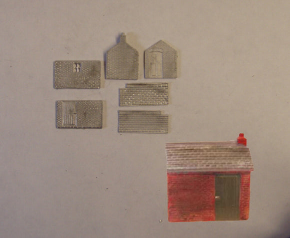 B503 (3) Platelayers hut - N GAUGE -
