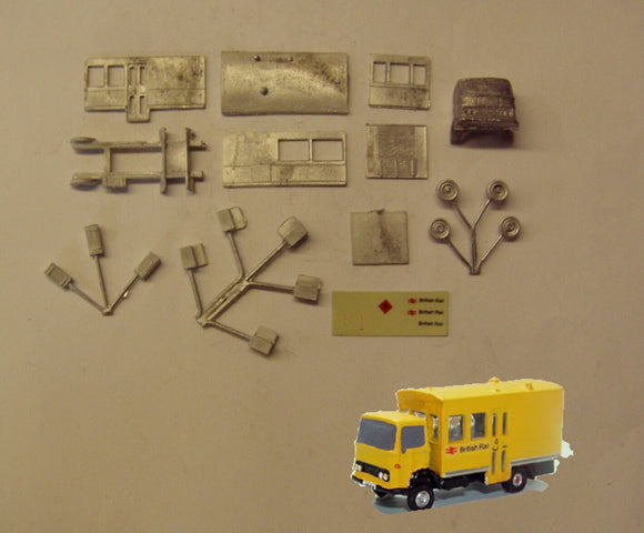 E102 (4) BR Permanent way lorry (incl. transfers) - N GAUGE -
