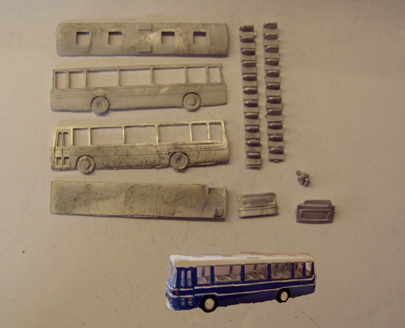 E135 (4) Plaxton Supreme coach (intro 1975) - N GAUGE -