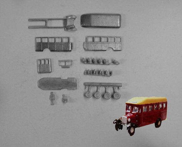 E35 (4) Bedford WLB single deck bus (intro 1931) - N GAUGE -
