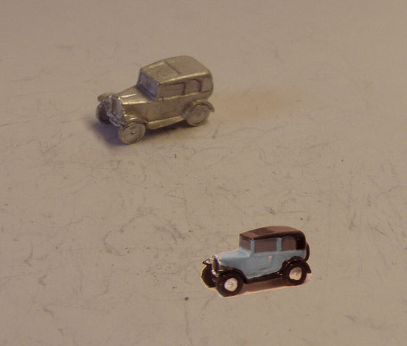 E37 (1) Austin 7 Saloon (intro.1933) - N GAUGE -