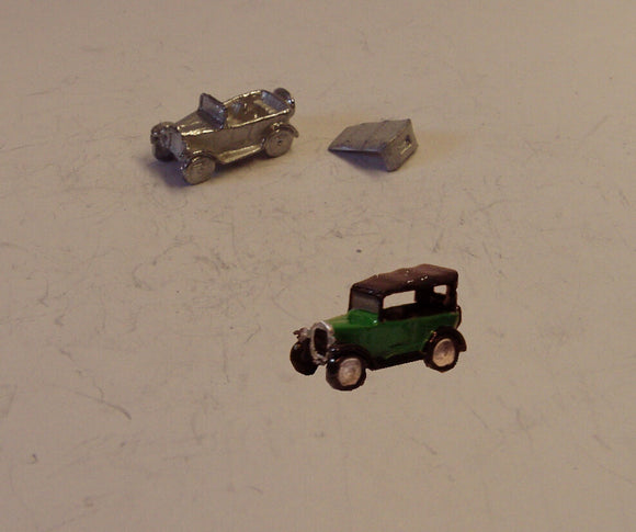 E38 (2) Austin 7 Chummy soft top up (intro. 1930) - N GAUGE -