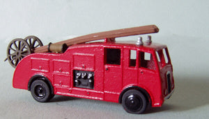 E61 (3) Fire Engine Dennis F7 pump escape (intro. 1949) - N GAUGE -