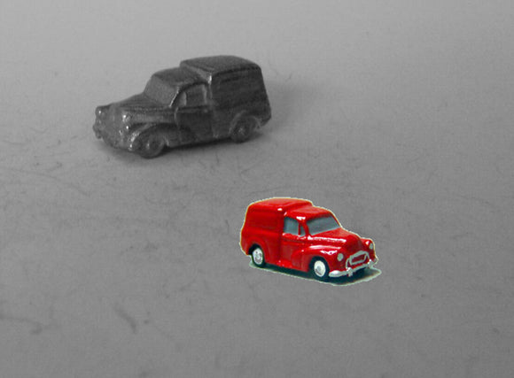E72 (1) Morris Minor Van (intro. 1956) - N GAUGE -