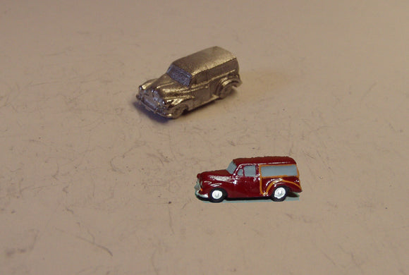 E73 (1) Morris Minor Traveller (intro. 1953) - N GAUGE -