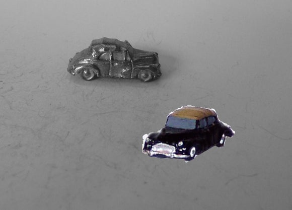 E74 (1) Morris Minor Tourer soft top up (intro. 1956) - N GAUGE -