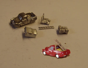E76 (2) Morris Minor Pickup (intro. 1956) choice of loads - N GAUGE -