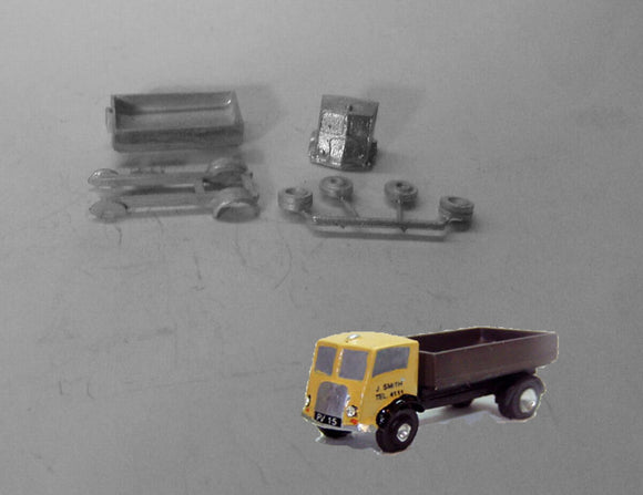 E81 (3) Morris Tipper lorry (1948) - N GAUGE -