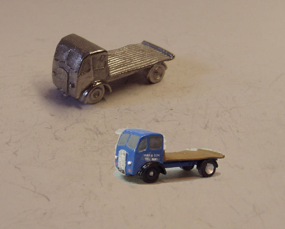 E84 (1) ERF short wheelbase flatbed (intro 1948) - N GAUGE -
