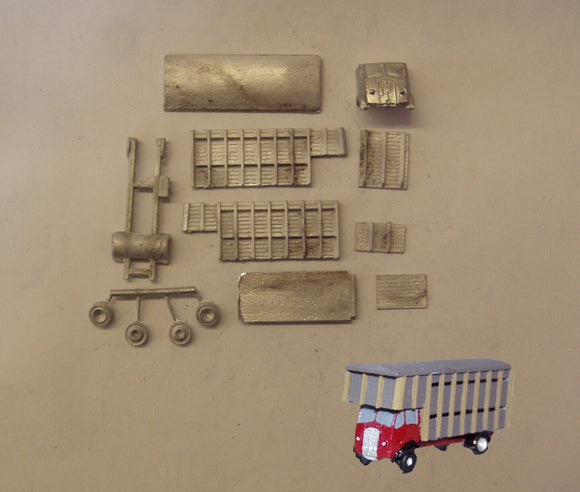 E94 (3) ERF Cattle lorry (intro 1948) - N GAUGE -