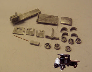 G26 (3) Daimler flatbed lorry (intro 1911) - N GAUGE -