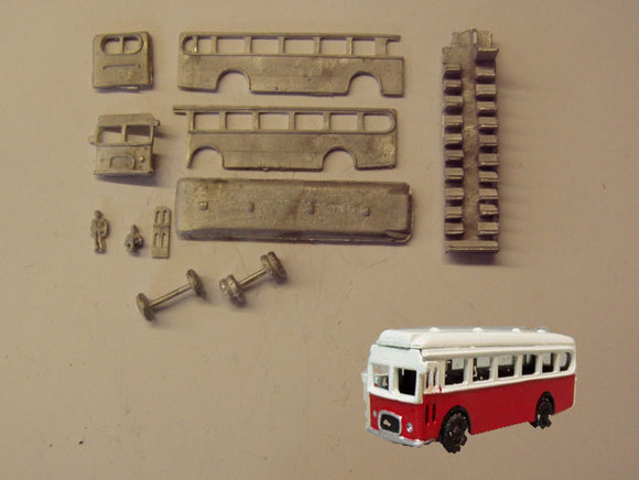 G54 (3) Bristol MW single deck bus (intro. 1957) - N GAUGE -