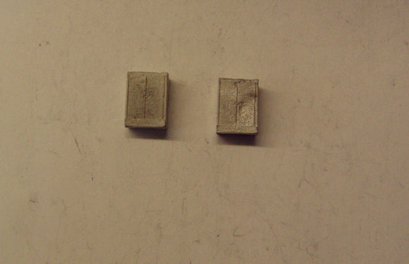 M14 (1) Electrical control cabinets - large (2) - N GAUGE -