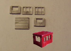 M19 (3) Site office - N GAUGE -
