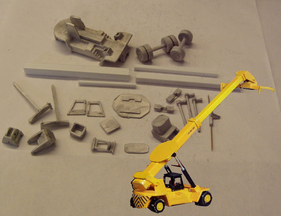 M1 (4) 45t boom handler / reach stacker - N GAUGE -
