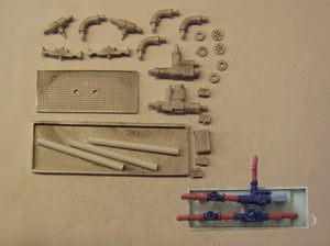 M35 (3) Large pumps, valves & pipework - N GAUGE -