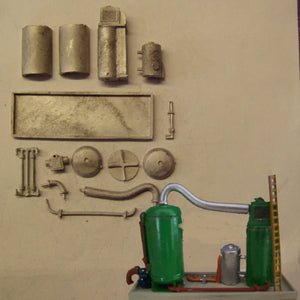 M40 (3) Chemical - water separation plant - N GAUGE -